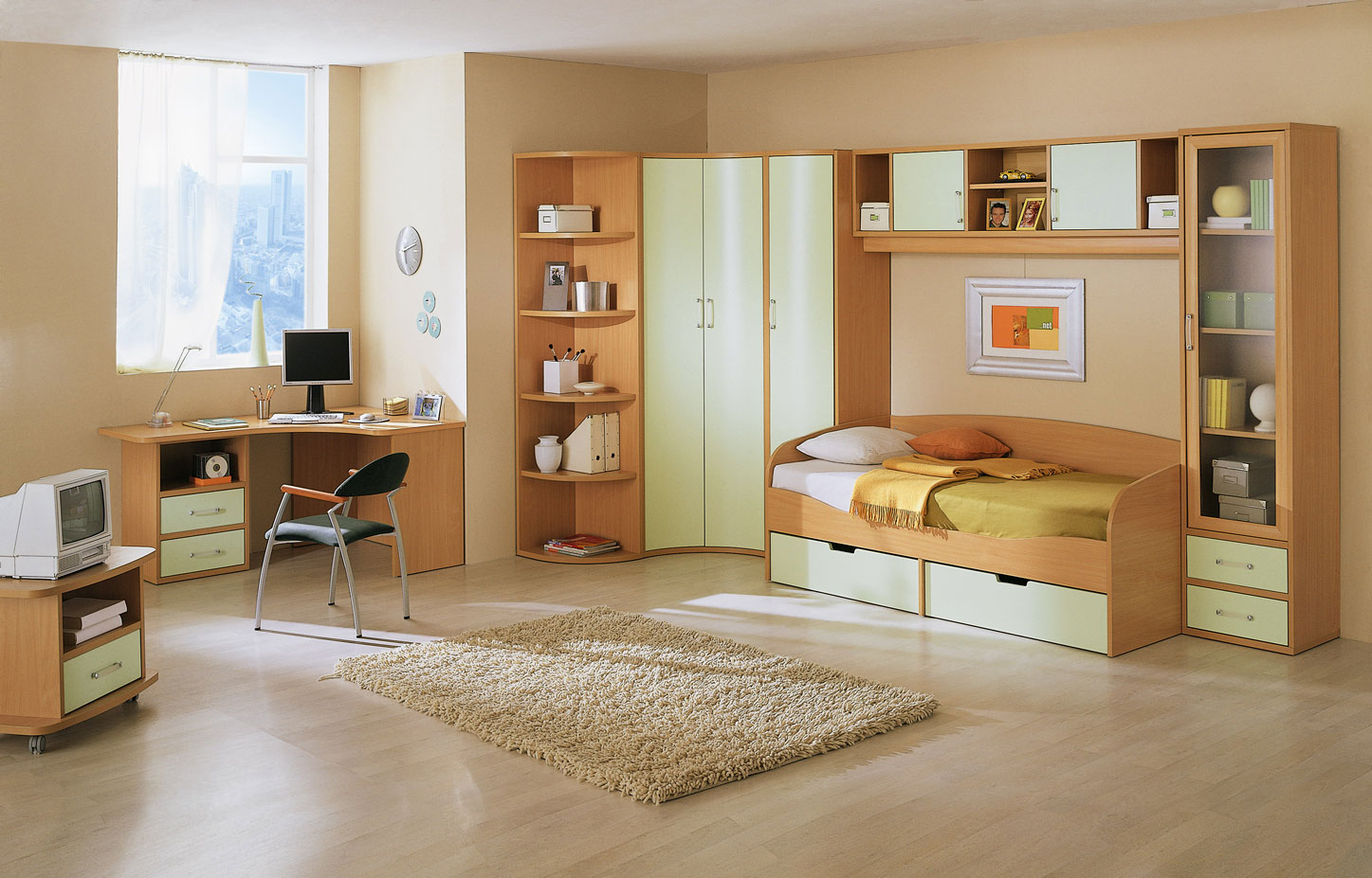 Image of: Child Bedroom Furniture Picture