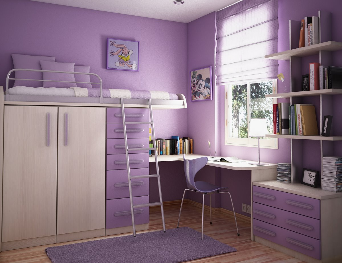 Image of: Color Ideas Teenage Bedroom Paint