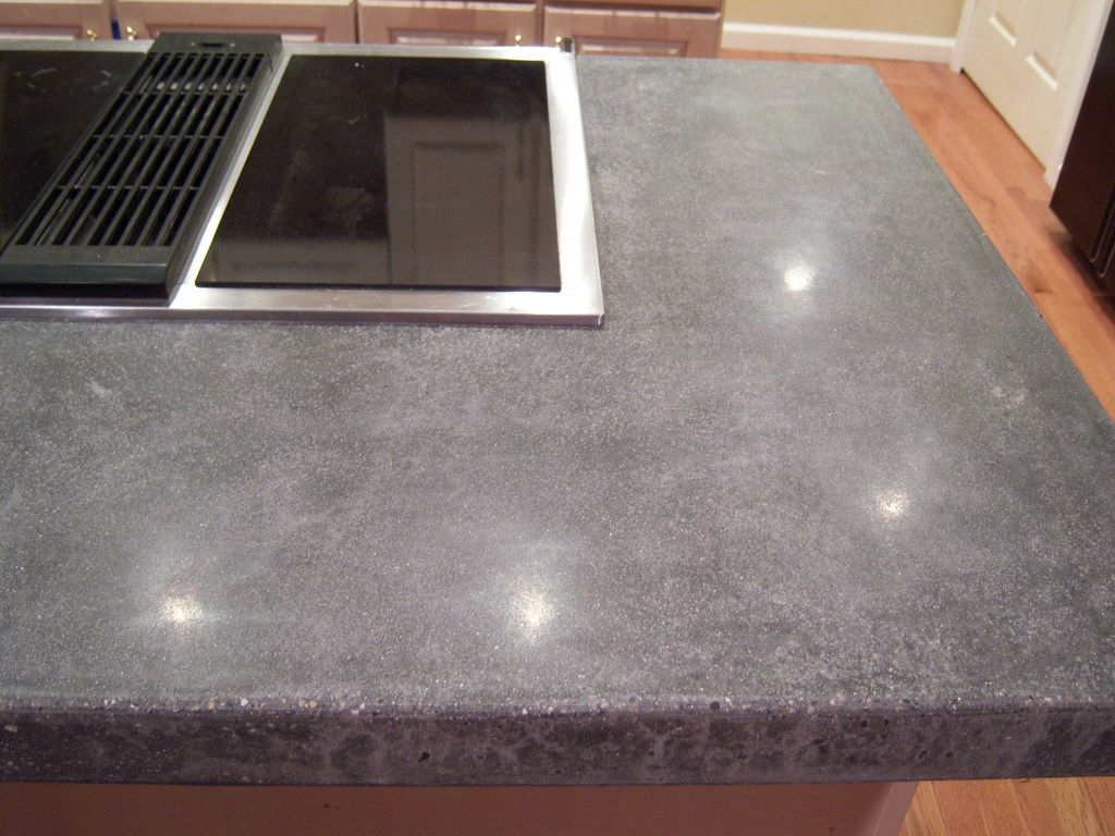 Image of: Concrete Countertops Diy