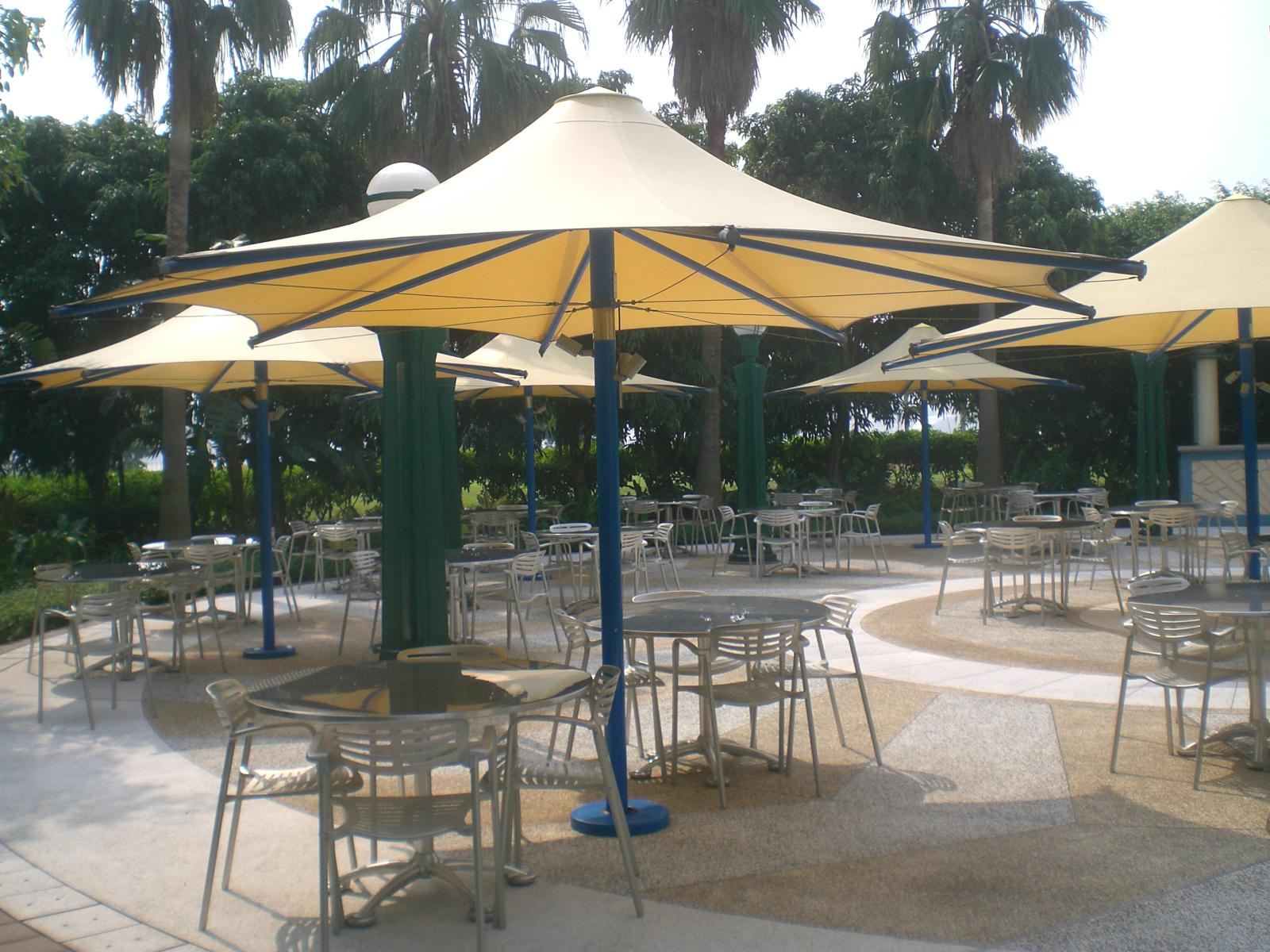Image of: Coolaroo Cantilever Umbrella
