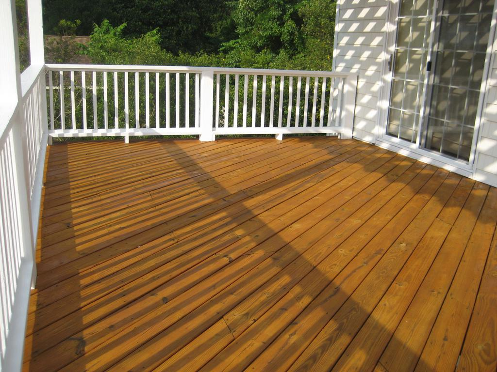 Image of: Deck Staining Colors