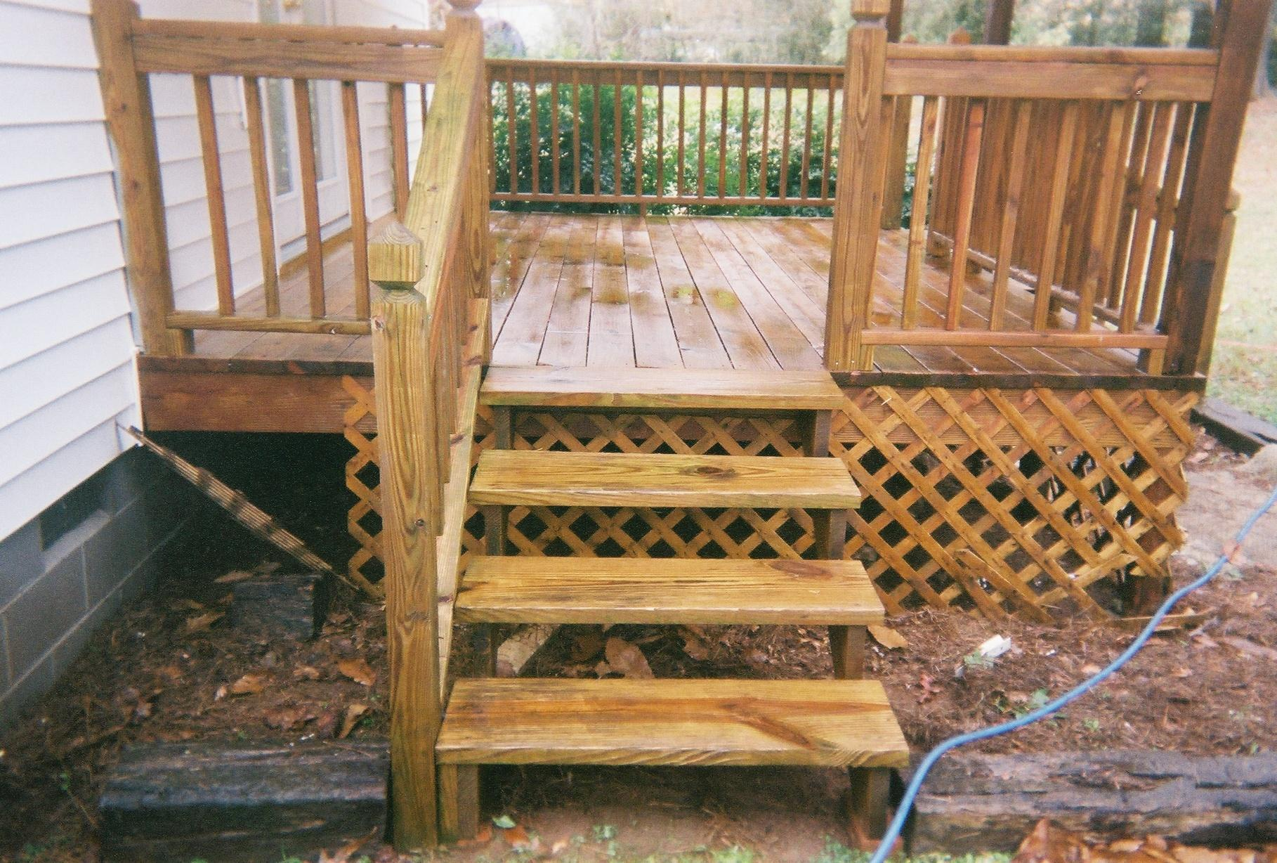 Image of: Deck Staining Ideas