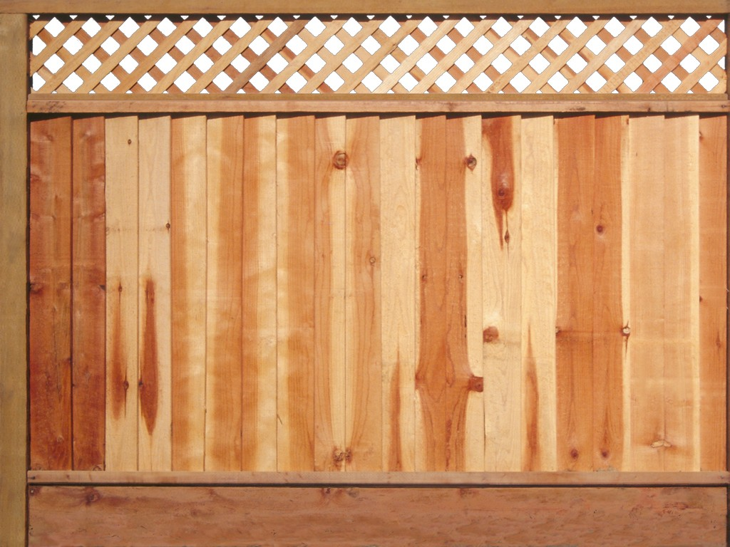 Image of: Different Types Of Wooden Fence Designs