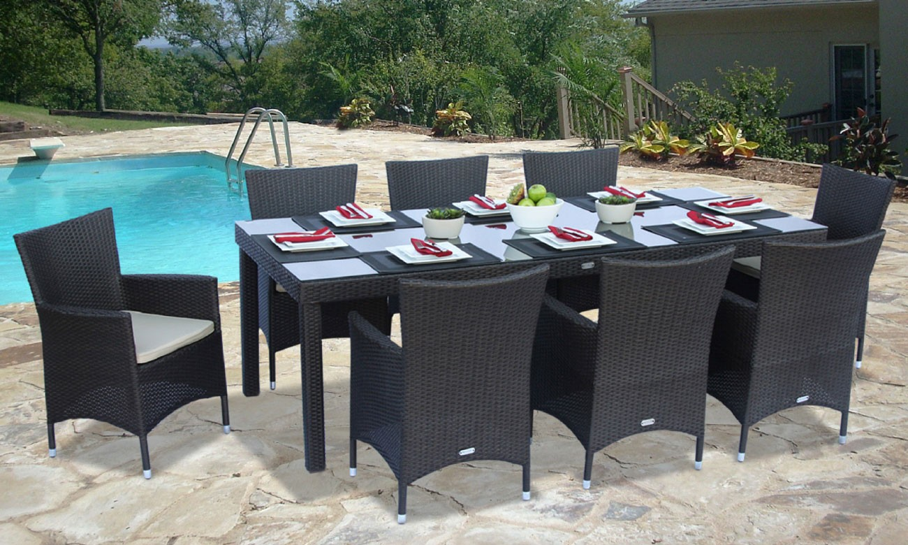 Image of: Discount Resin Wicker Patio Furniture