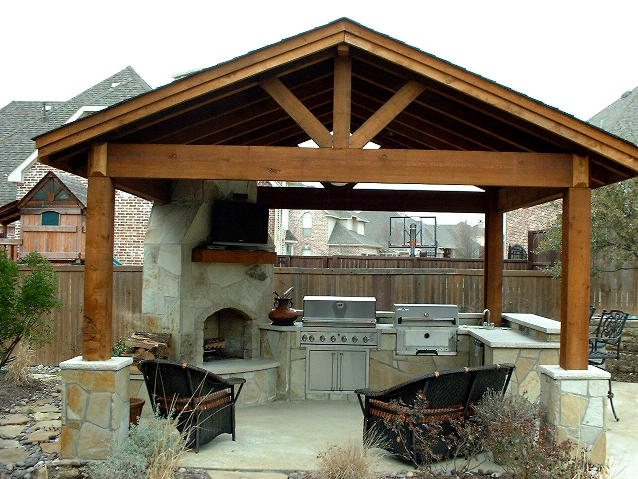 Image of: Diy Outdoor Kitchens
