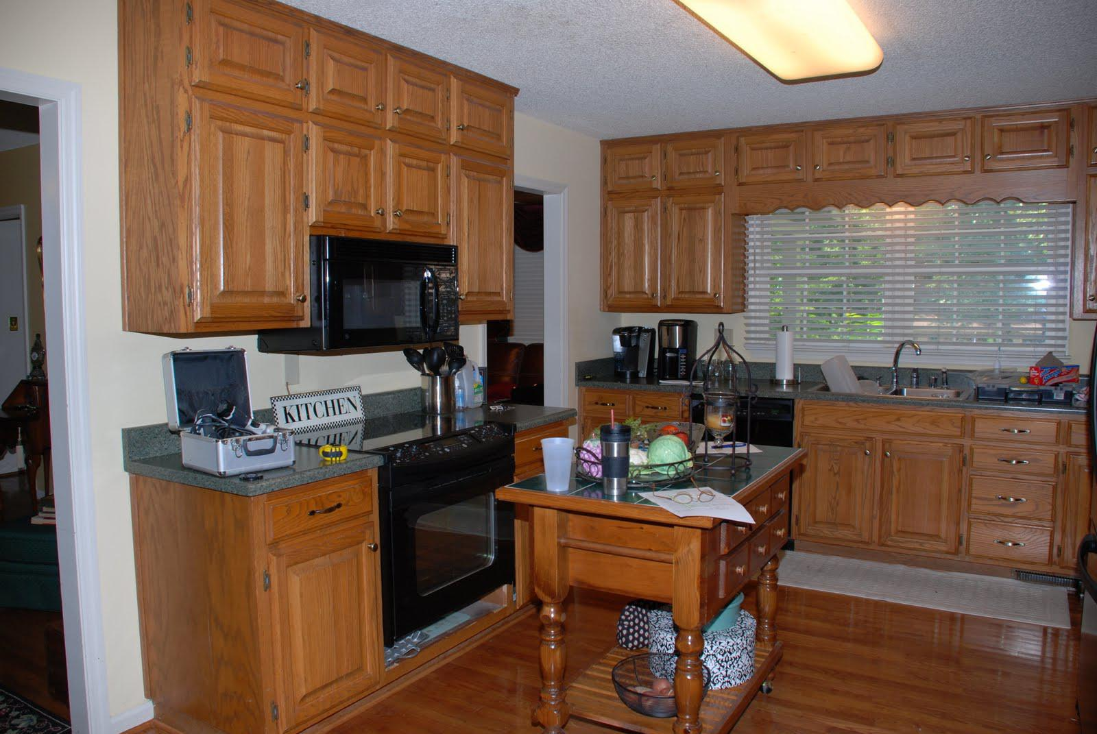 Image of: Diy Painting Kitchen Cabinets