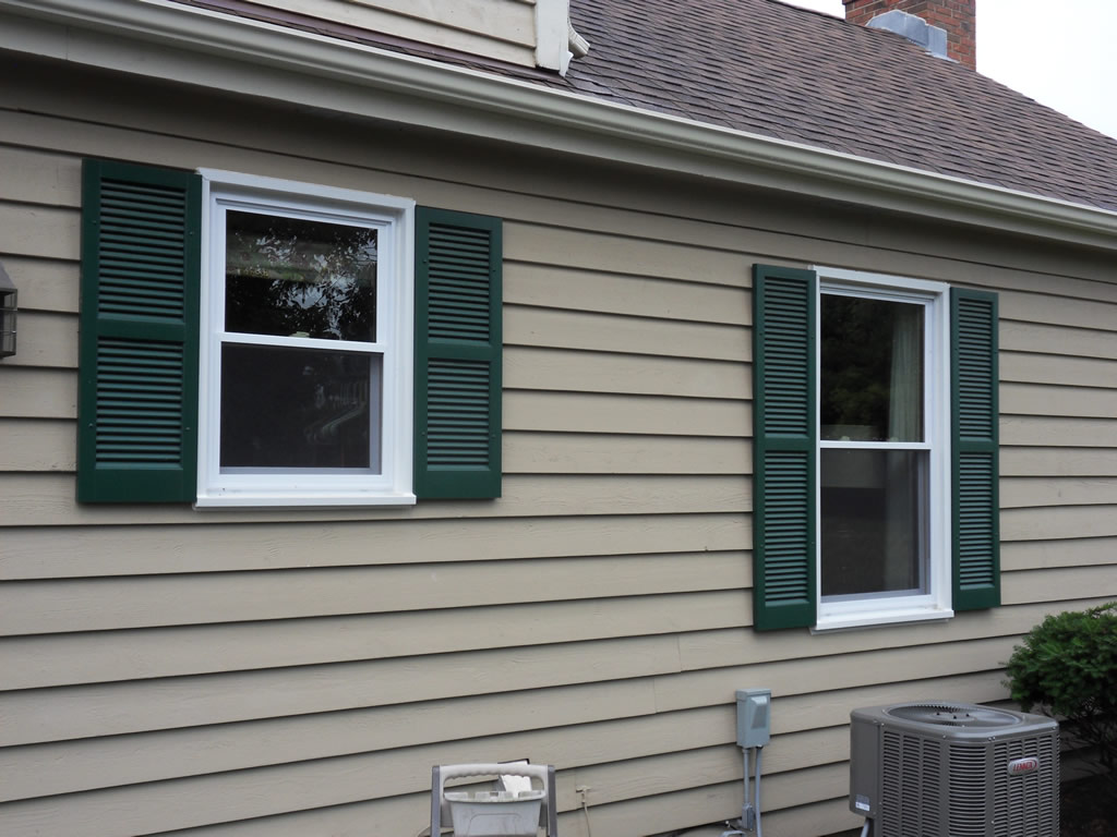 Image of: Exterior Window Shutters Ideas