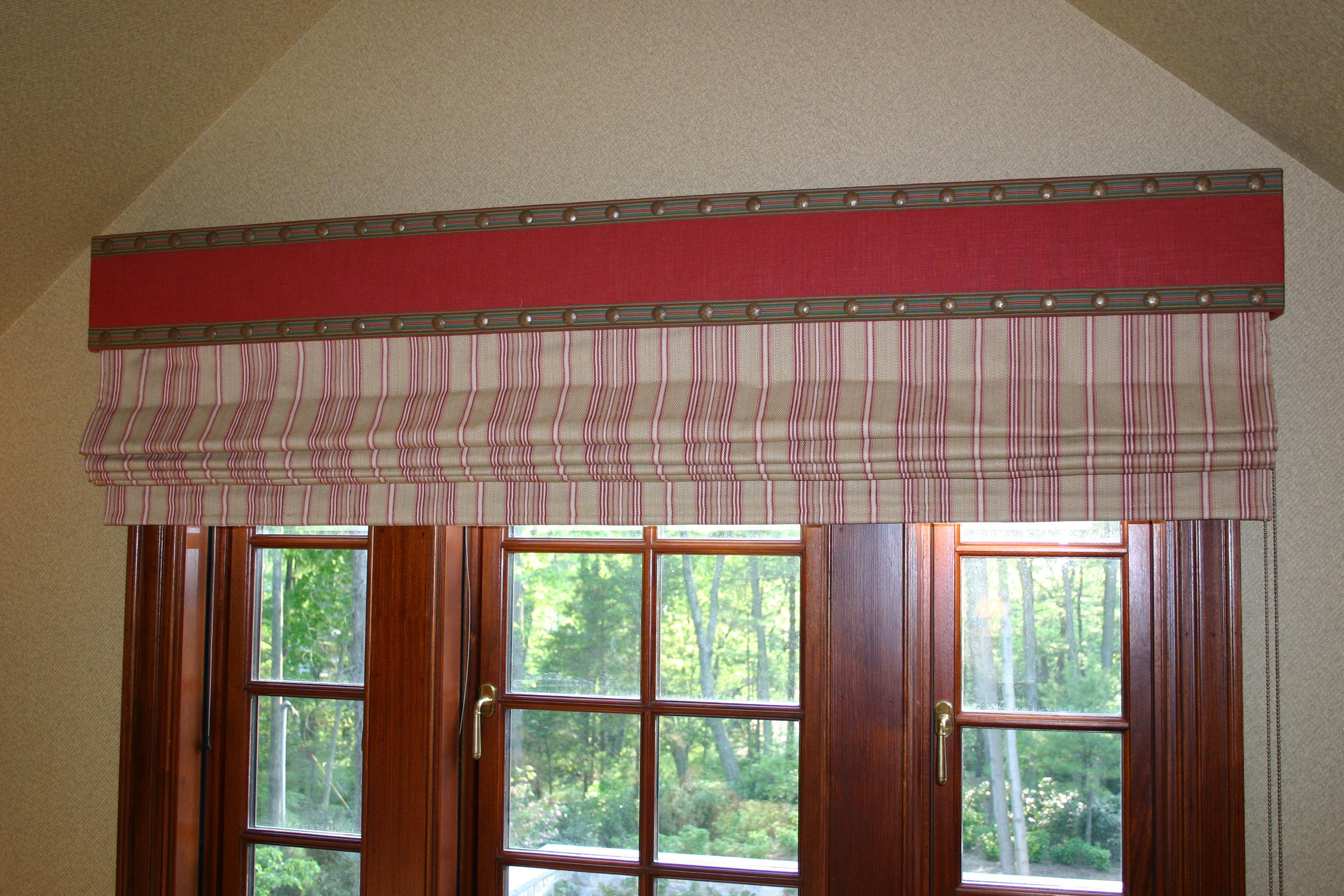Image of: Fabric Roman Shades Target