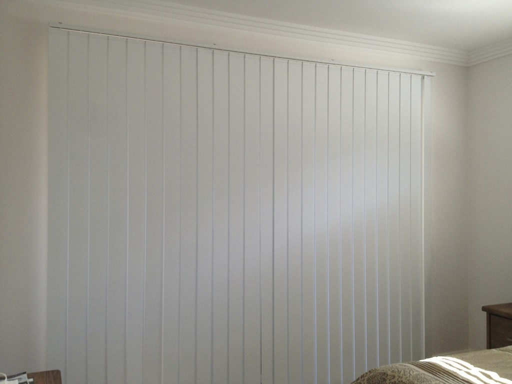 Image of: Fabric Vertical Blinds Replacement Slats