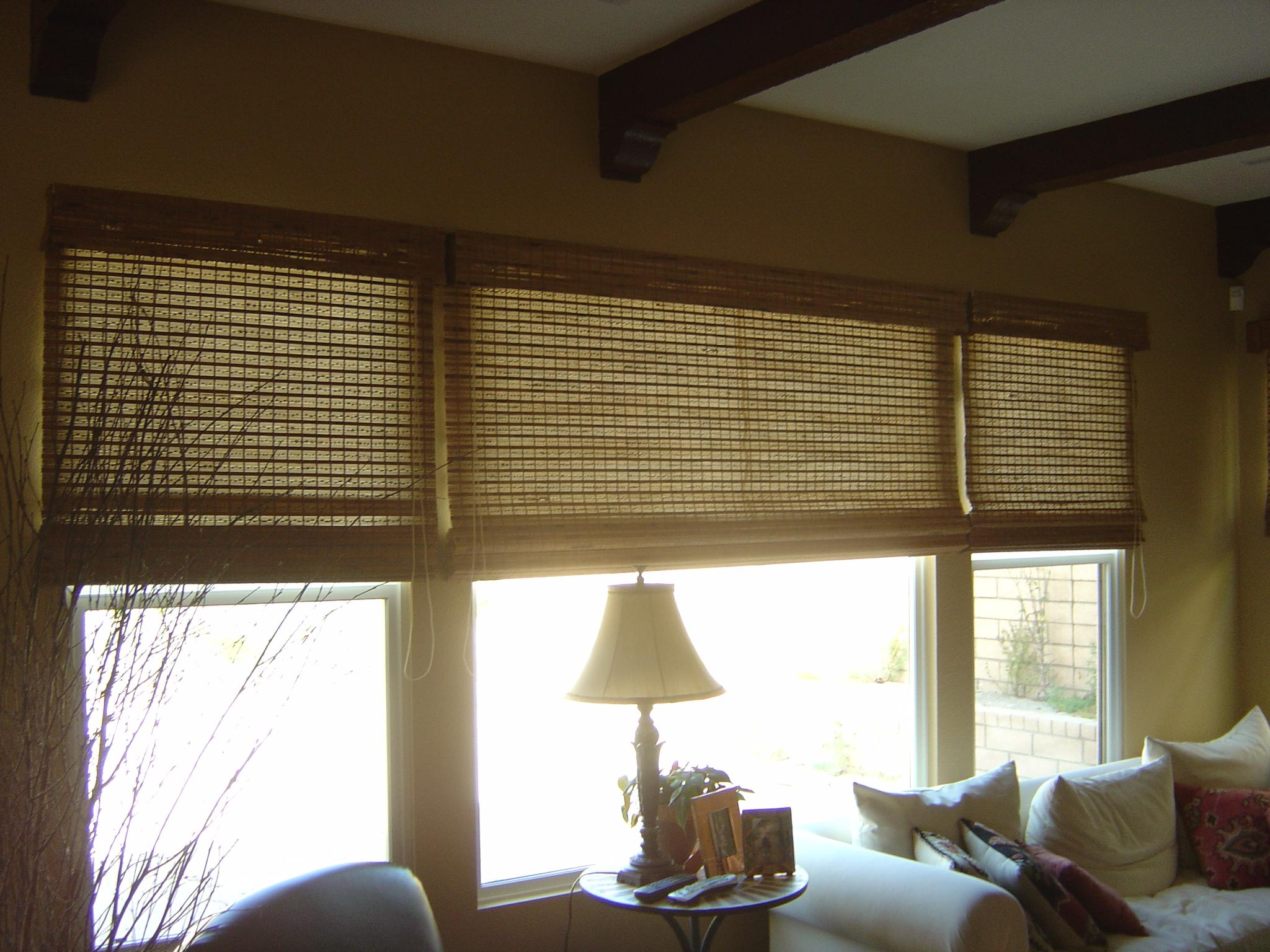 Image of: Faux Wood Blinds Home Depot