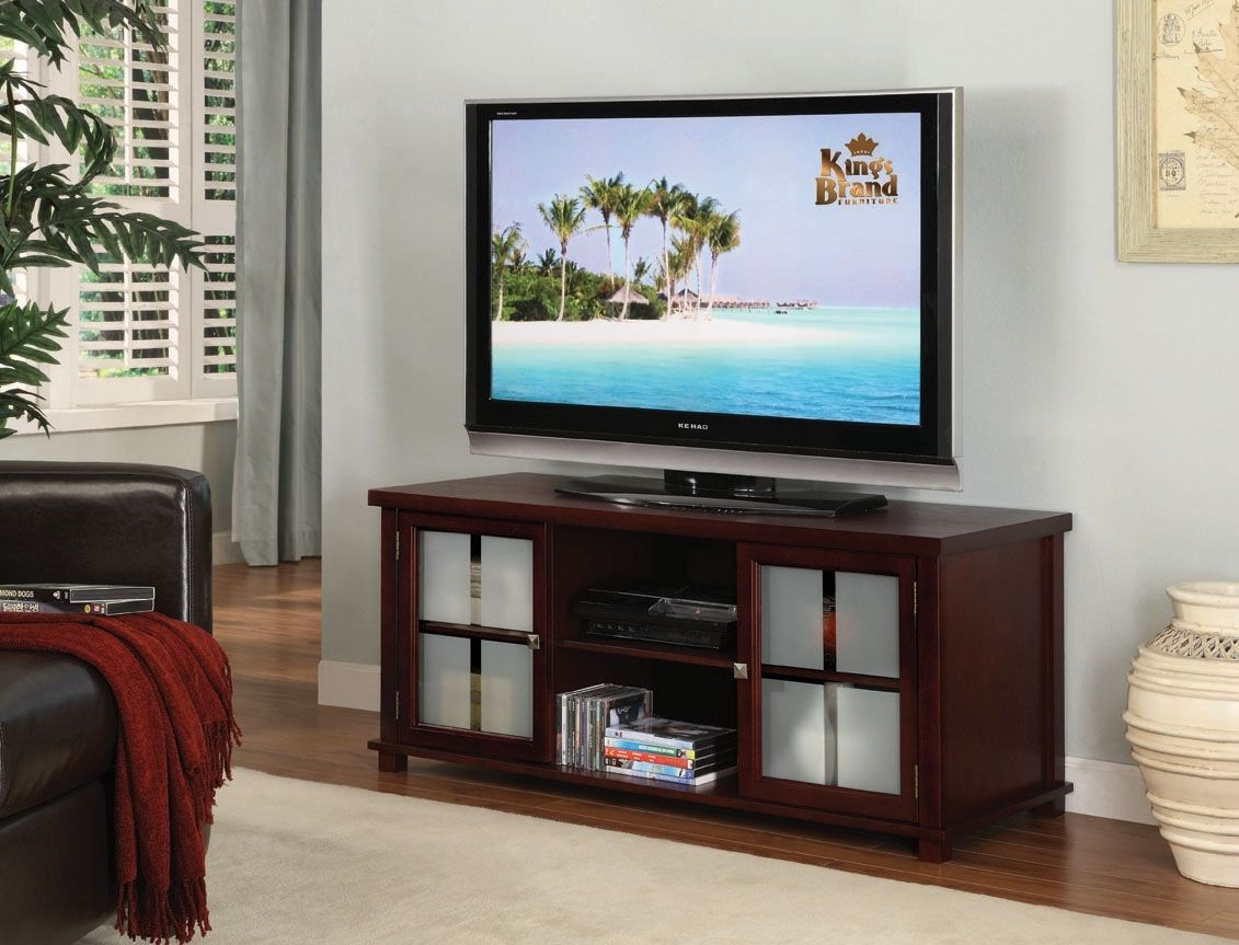 Image of: Flat Panel Tv Stands With Mounts