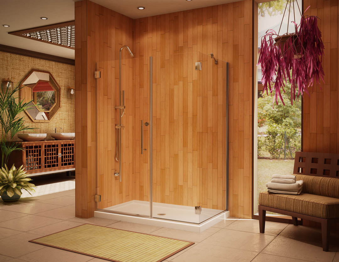 Image of: Frameless Glass Shower Doors Picture