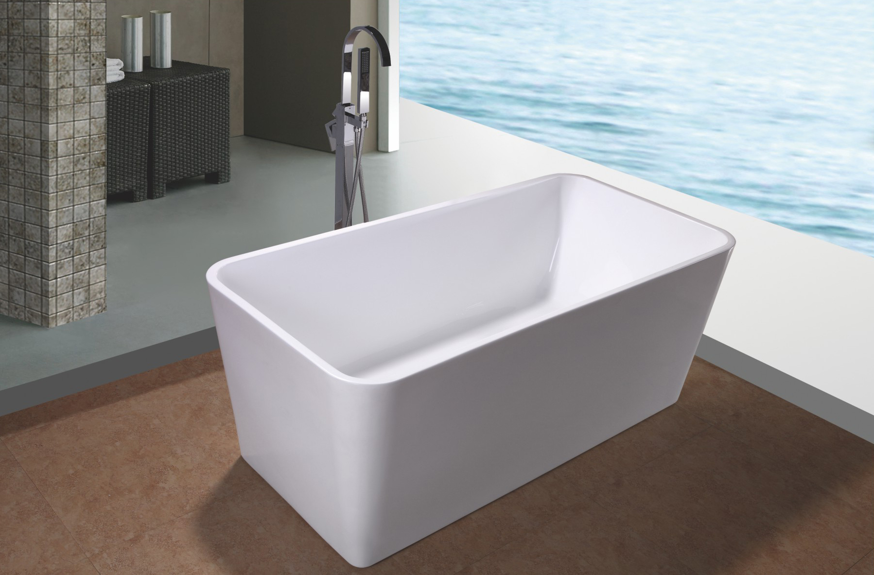 Image of: Free Standing Bath Tubs