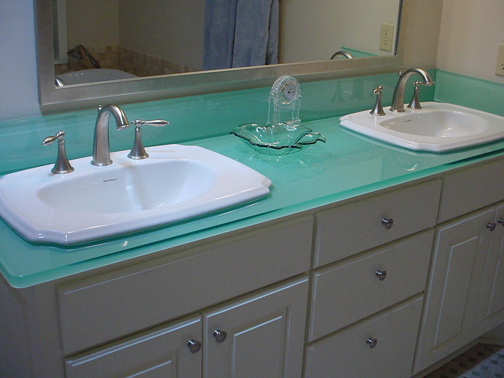 Image of: Glass Kitchen Cabinets