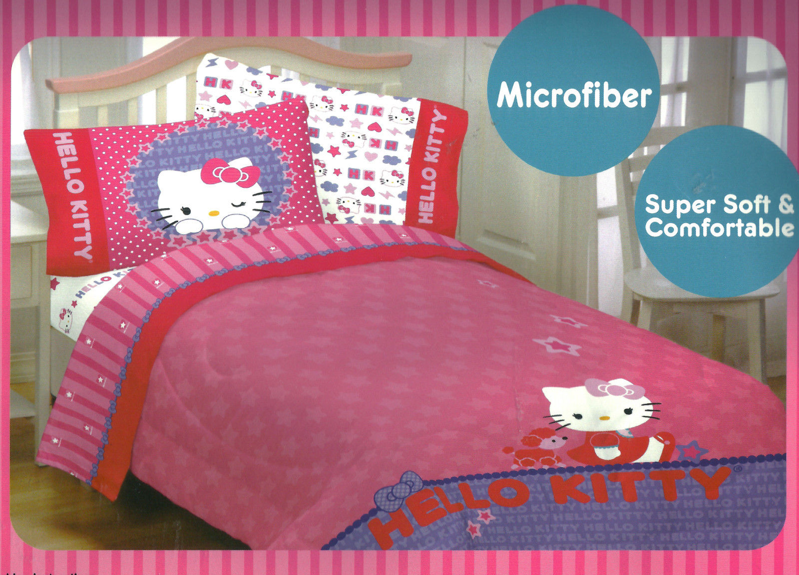 Image of: Hello Kitty Bedroom Set ooms To Go