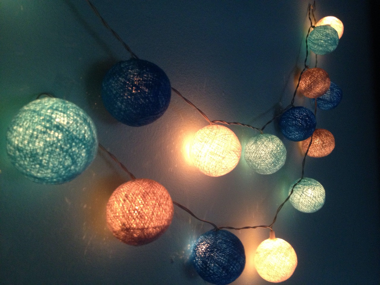 Image of: Indoor Outdoor String Lights