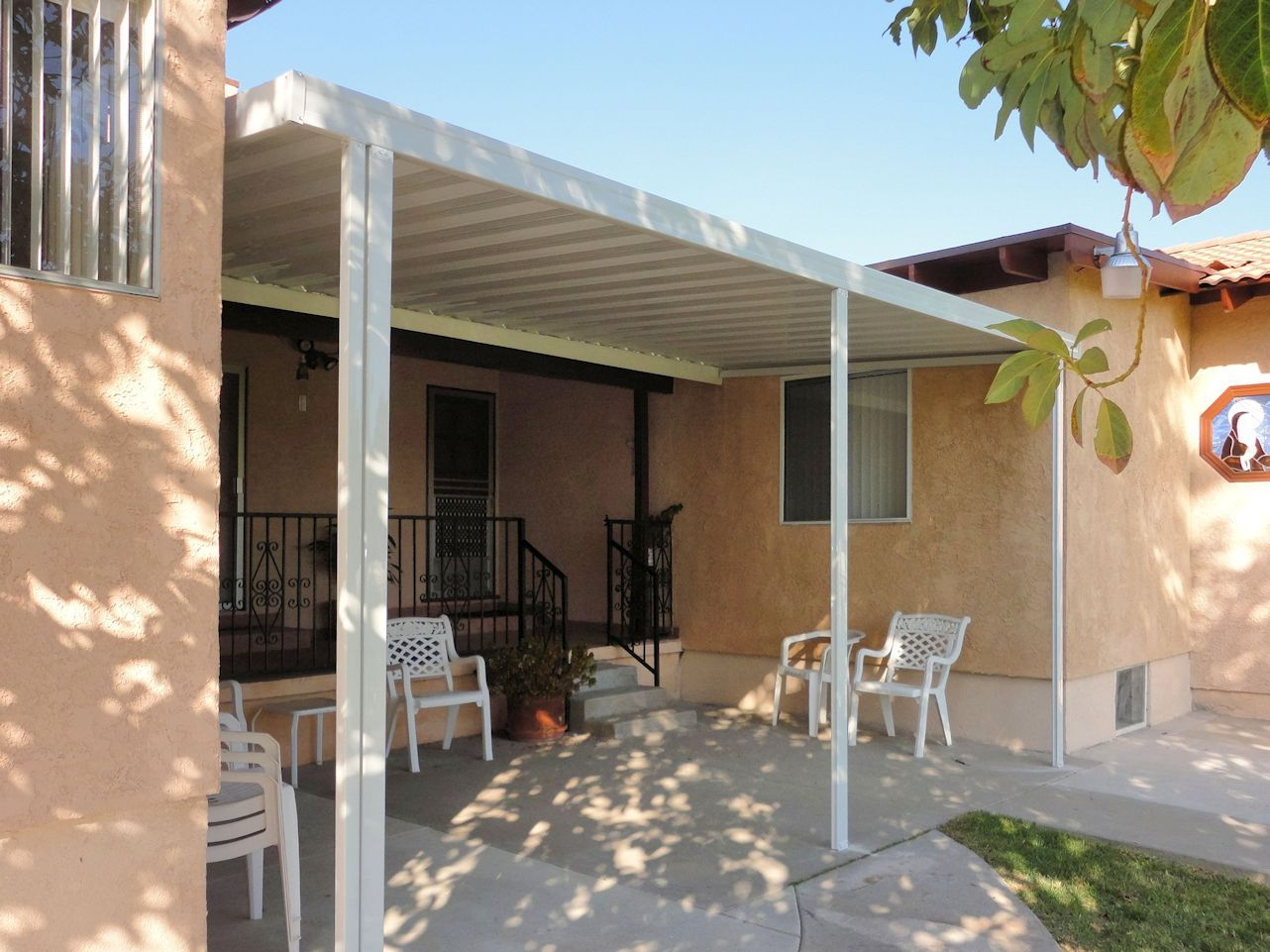 Image of: Insulated Aluminum Patio Covers