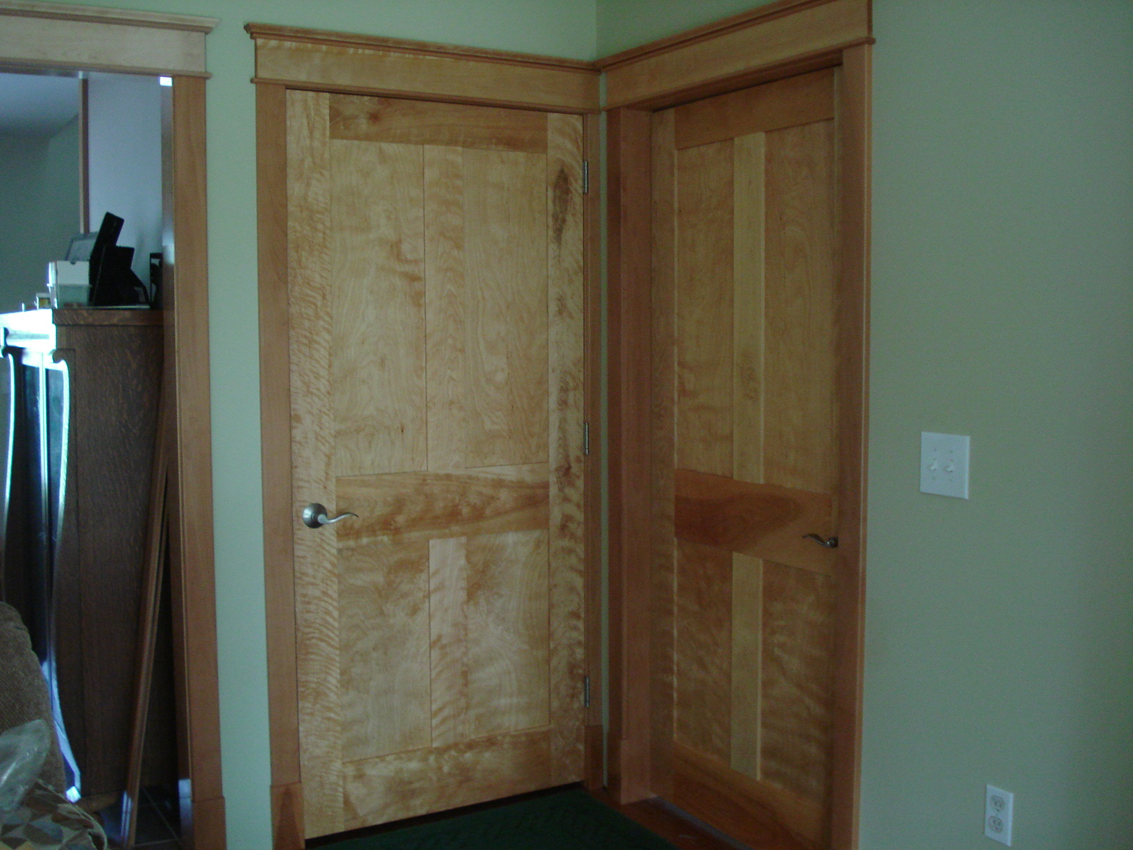 Image of: Interior Wood Door Styles Unfinished
