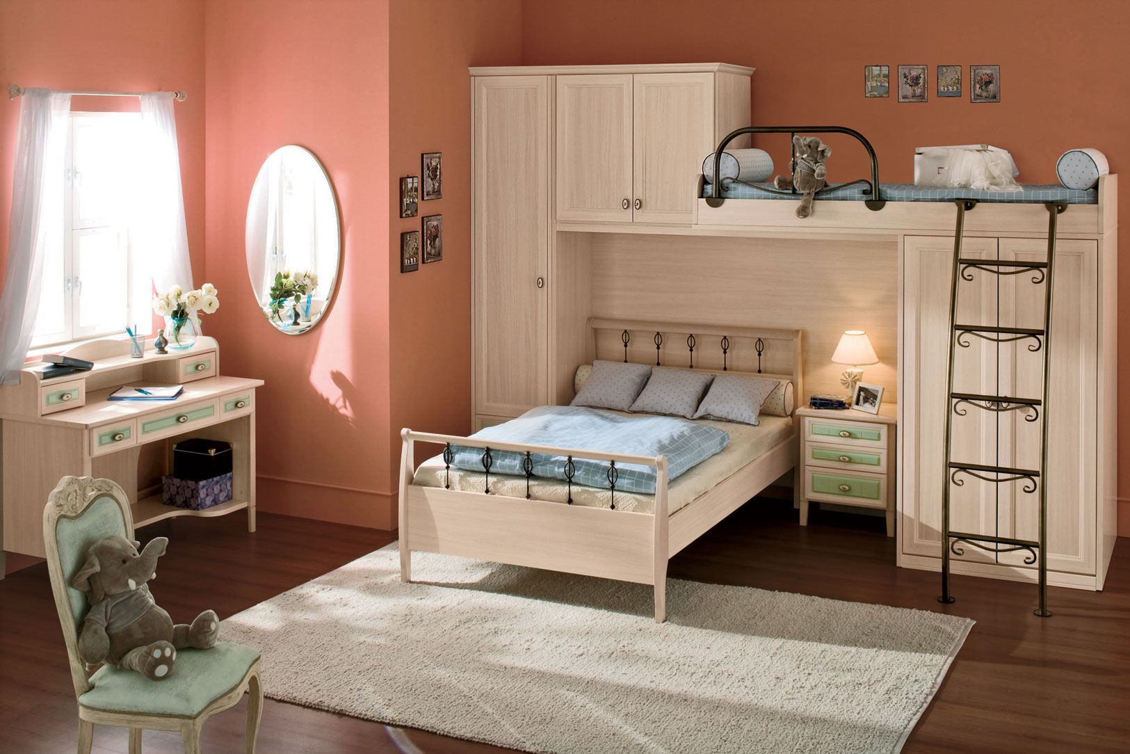 Image of: Kids Bedroom Furniture Idea