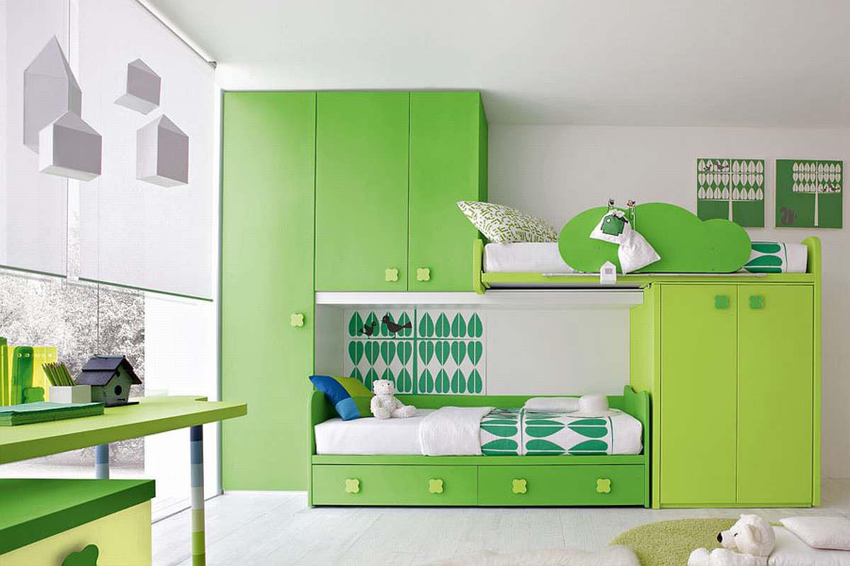 Image of: Kids Modern Bedroom Furniture Images