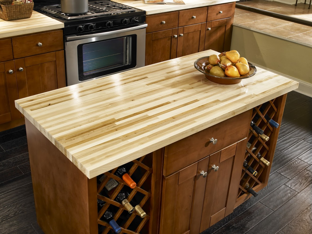 Image of: Kitchen Butcher Blocks