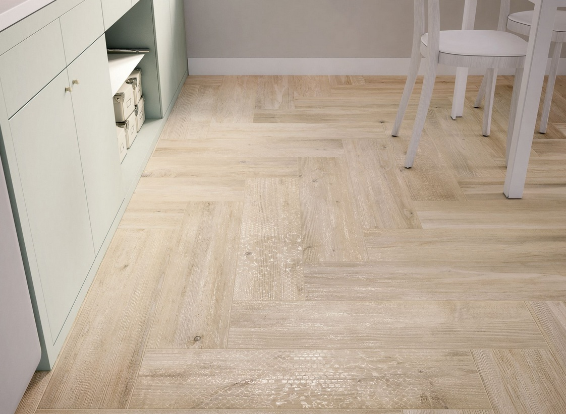 Image of: Kitchen Flooring Picture