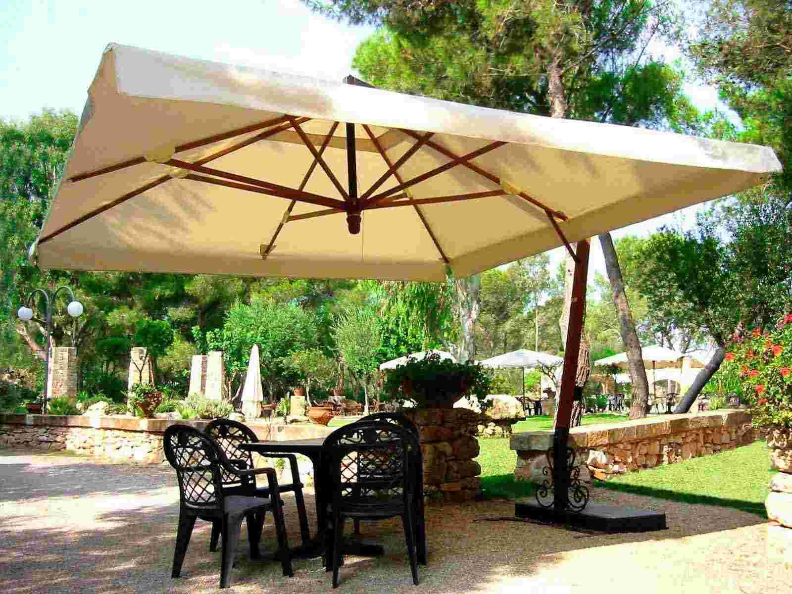 Image of: Large Patio Umbrella Clearance