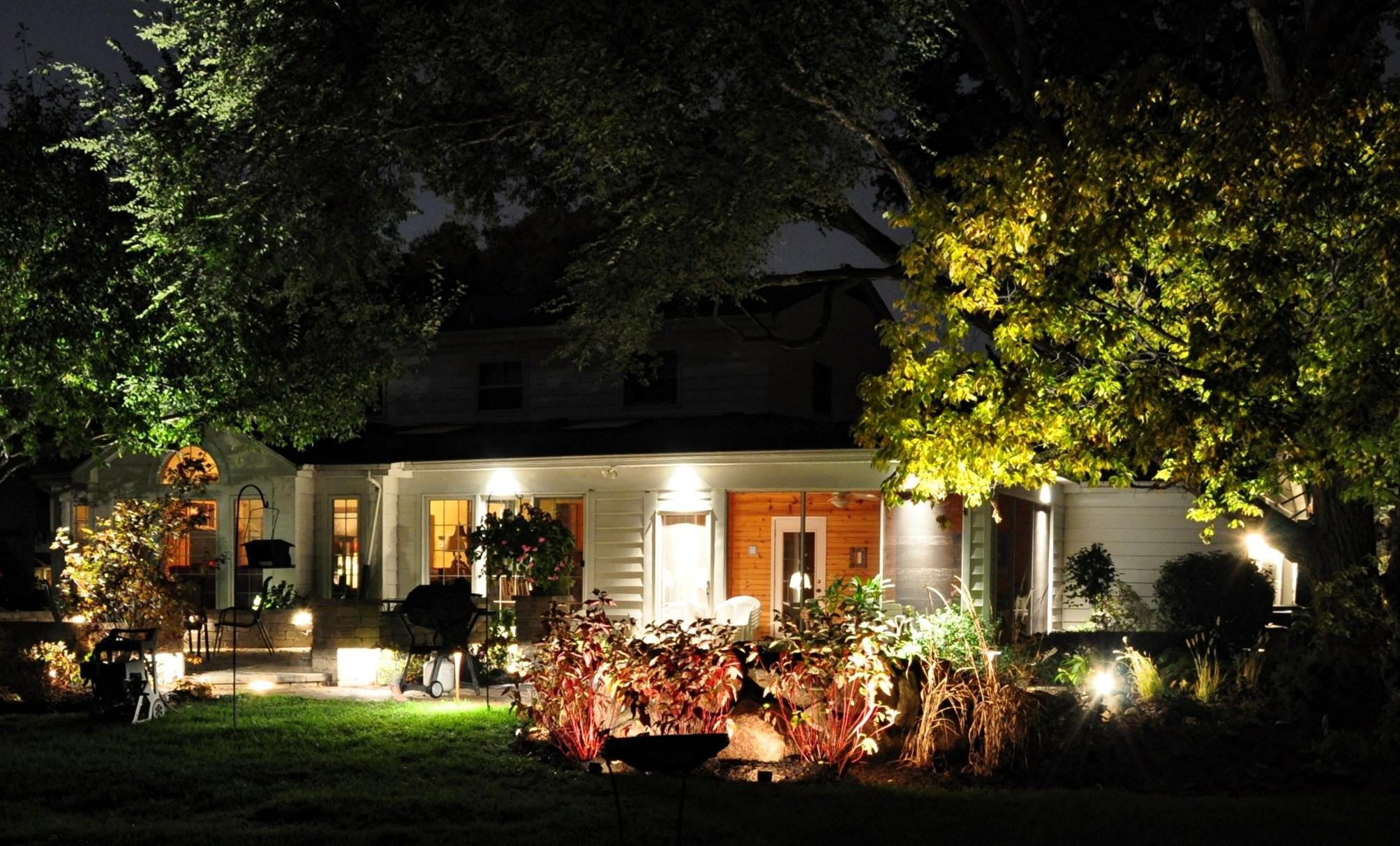 Image of: Led Outdoor Lighting