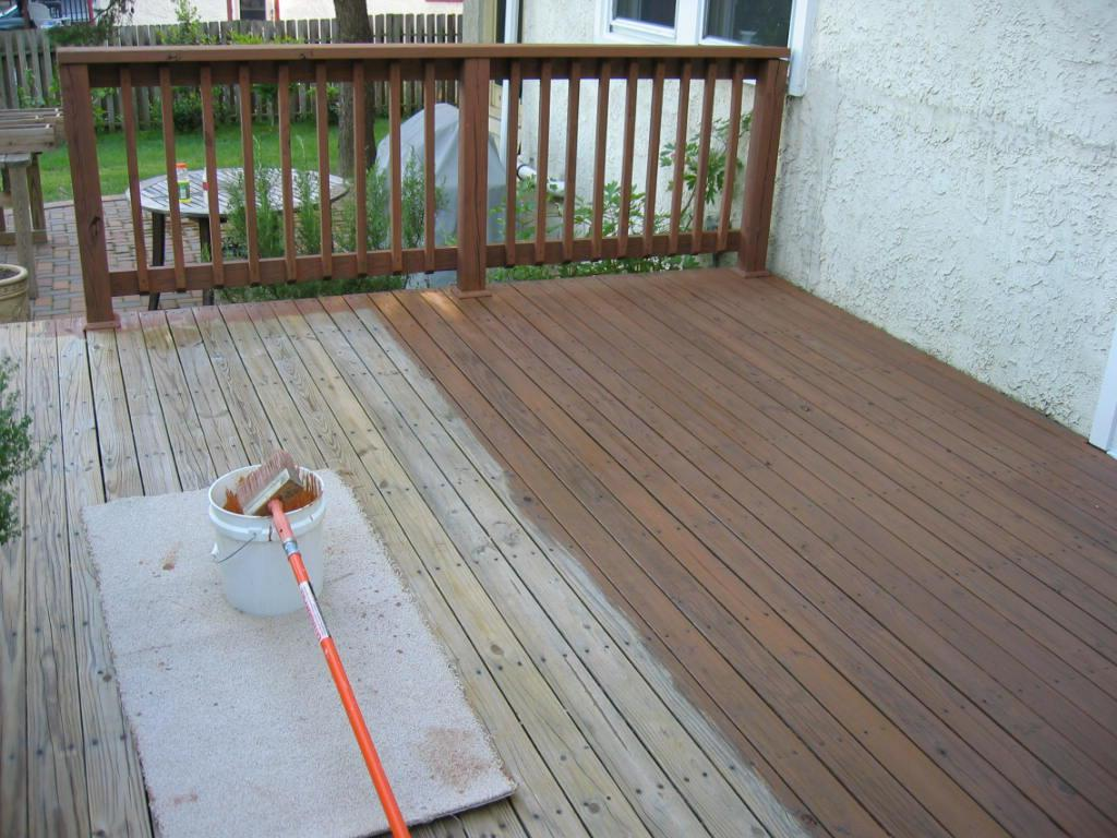 Image of: Long Lasting Deck Stain