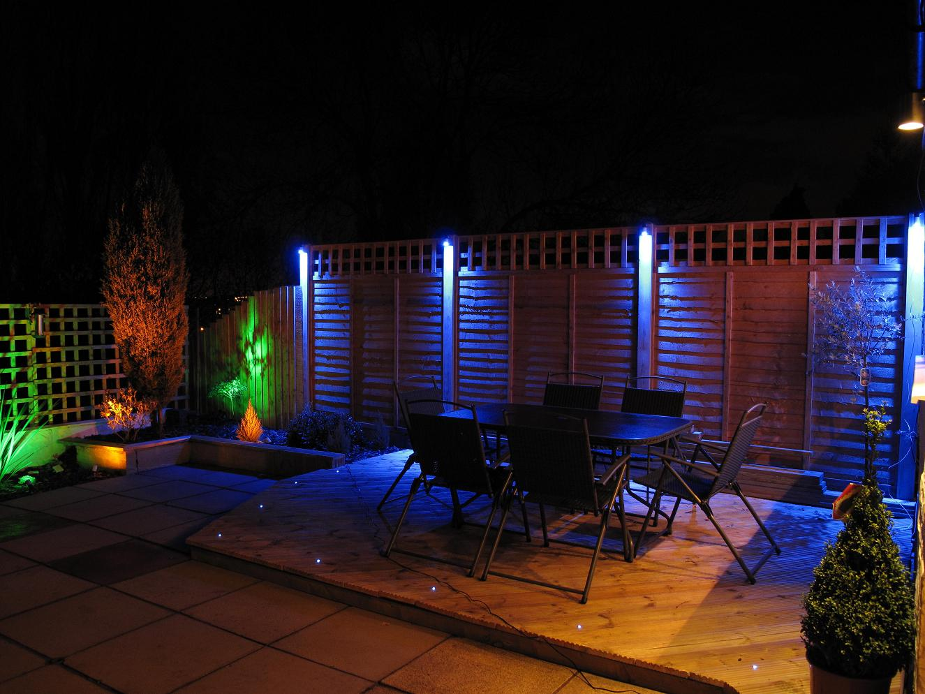 Image of: Low Voltage Garden Lighting Systems