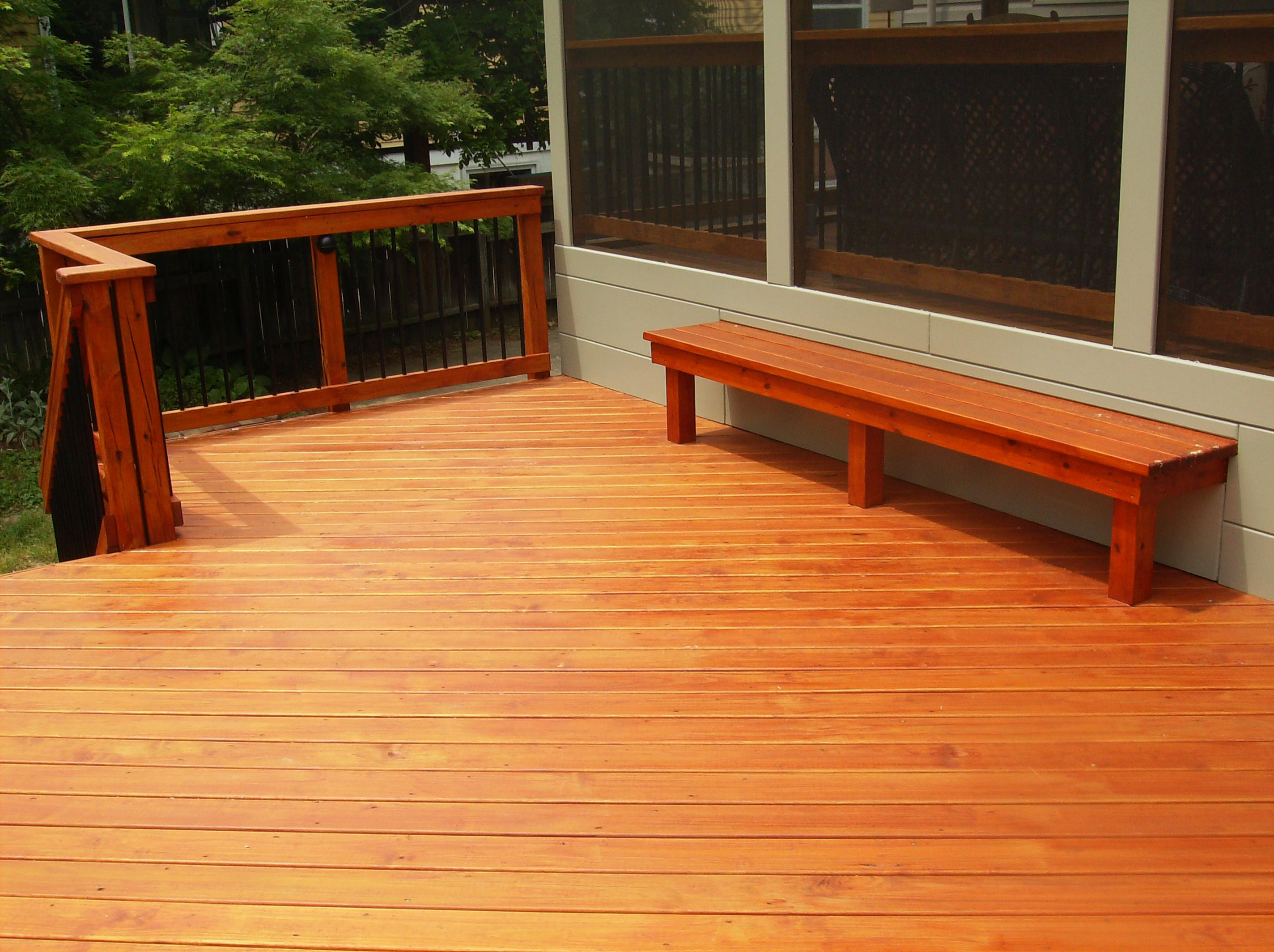 Image of: Mahogany Deck Finish