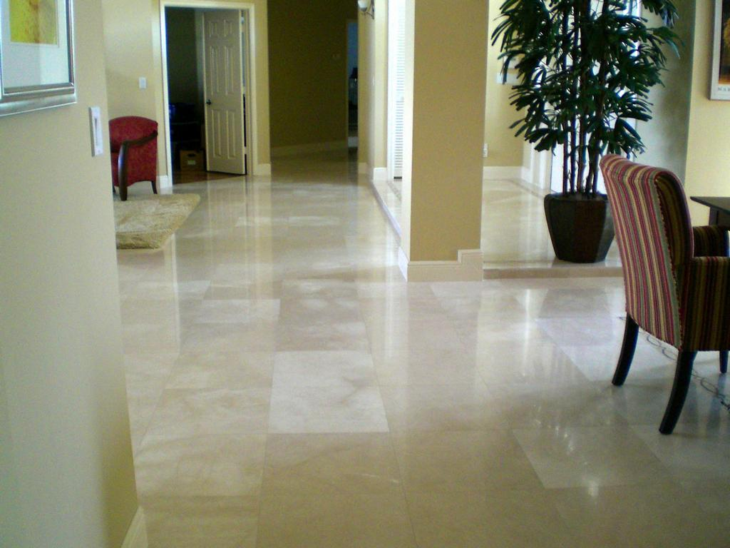 Image of: Marble Floors Care