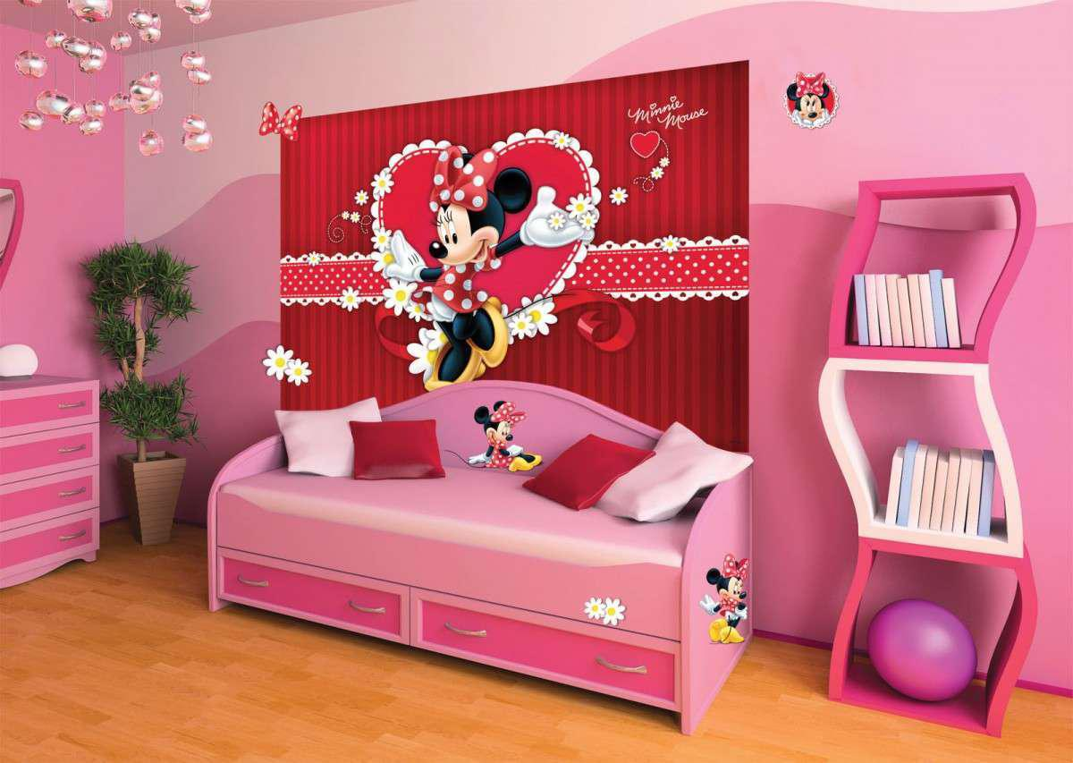 Image of: Minnie Mouse Bedroom Accessories