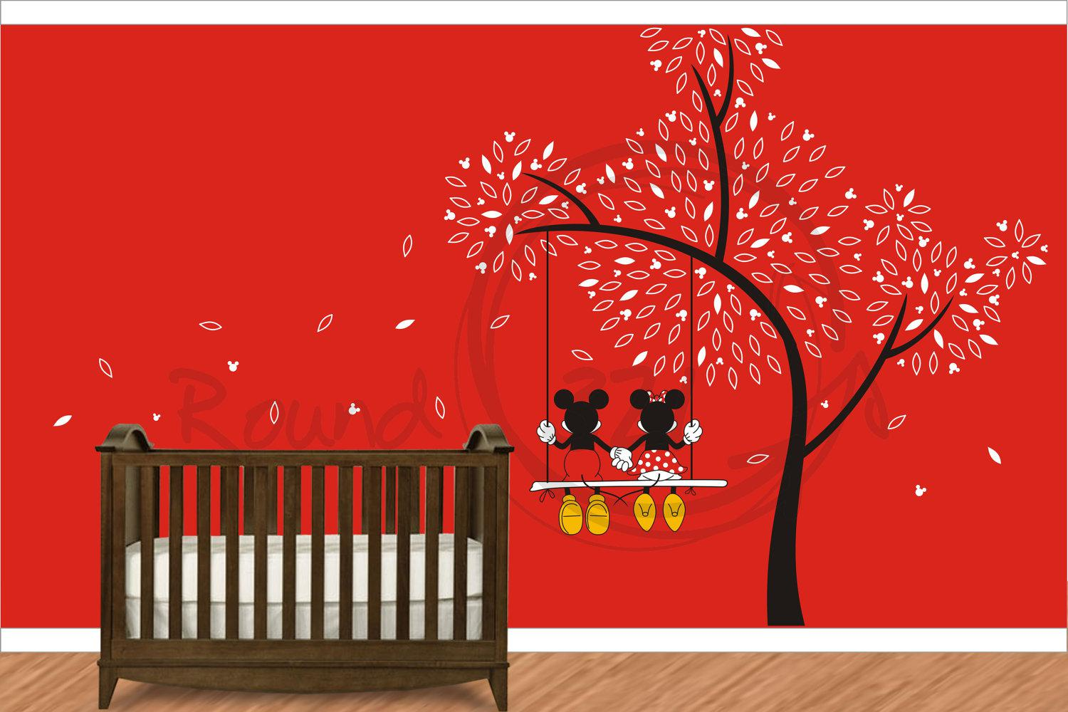 Image of: Minnie Mouse Wall Decals
