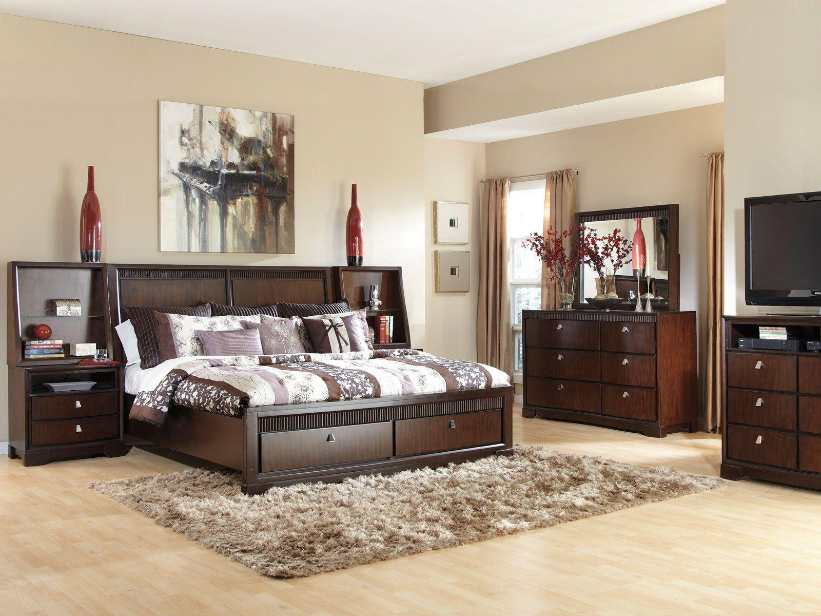 Image of: Modern King Bed Sets