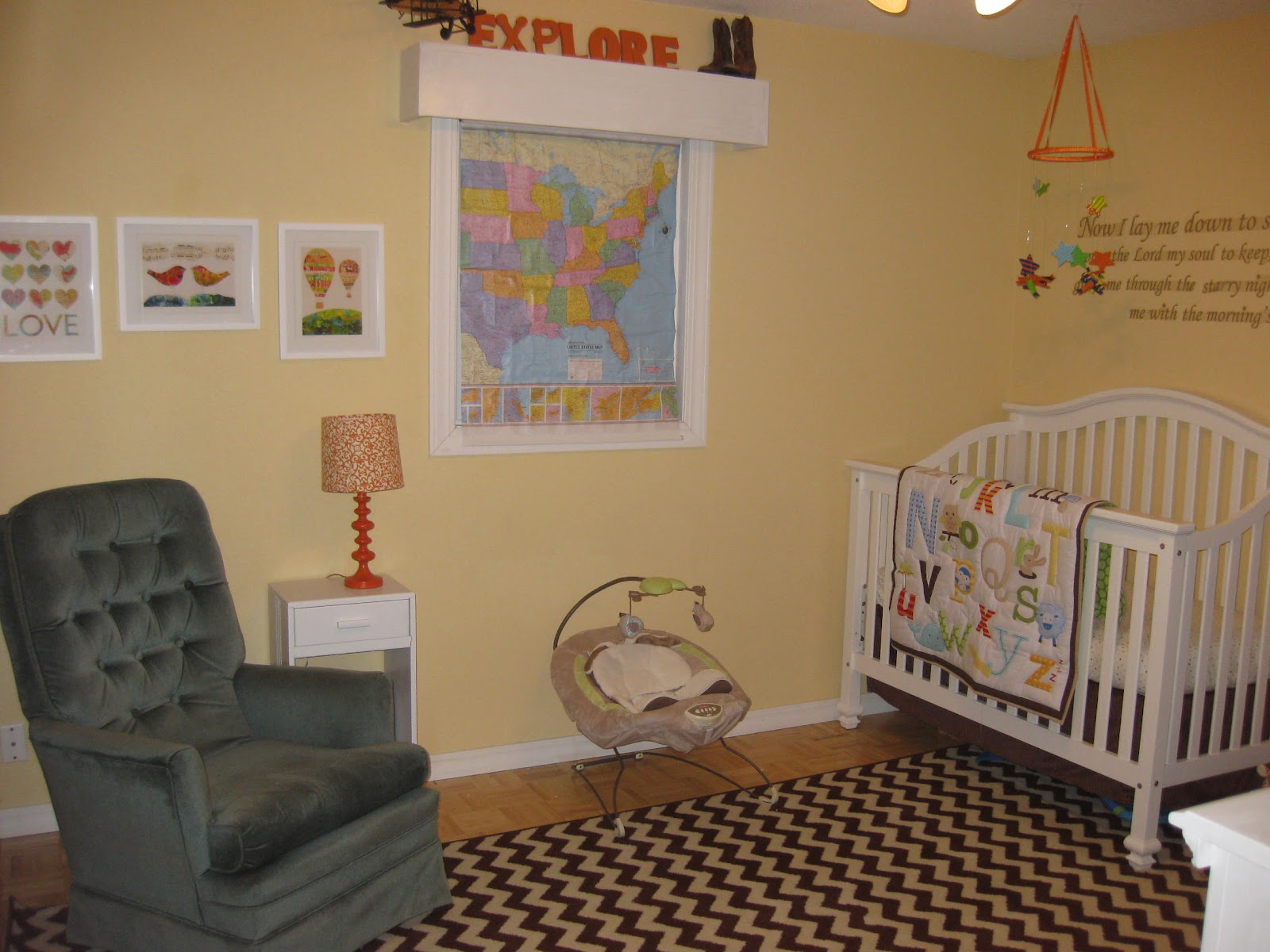 Image of: Neutral Nursery Ideas