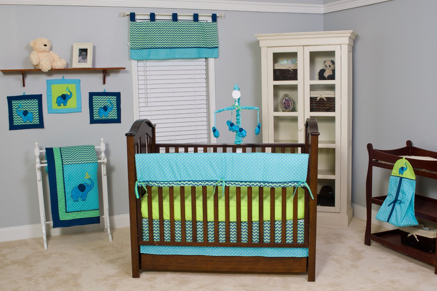 Image of: Neutral Nursery Themes