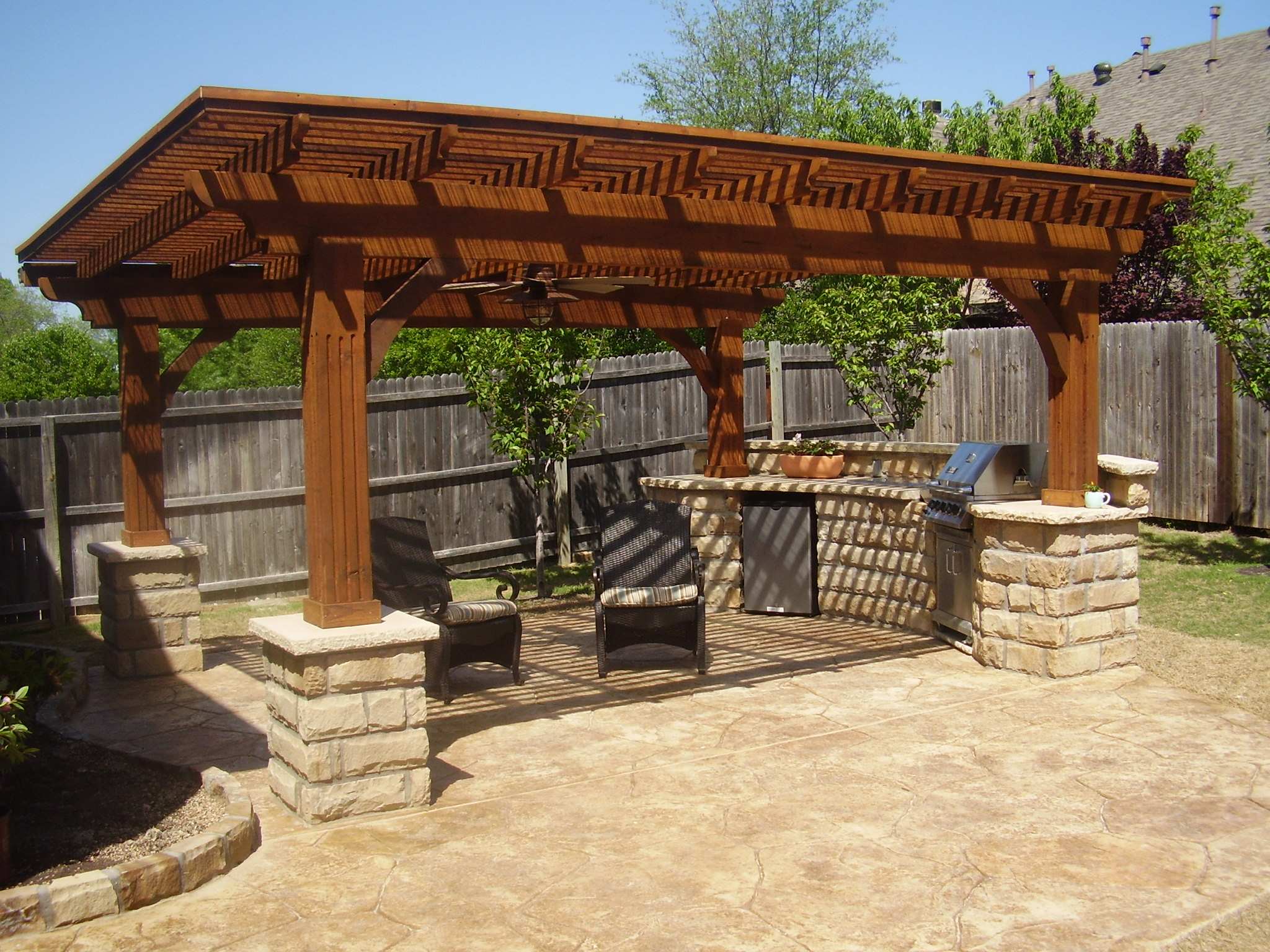 Image of: Outdoor Kitchen Designs