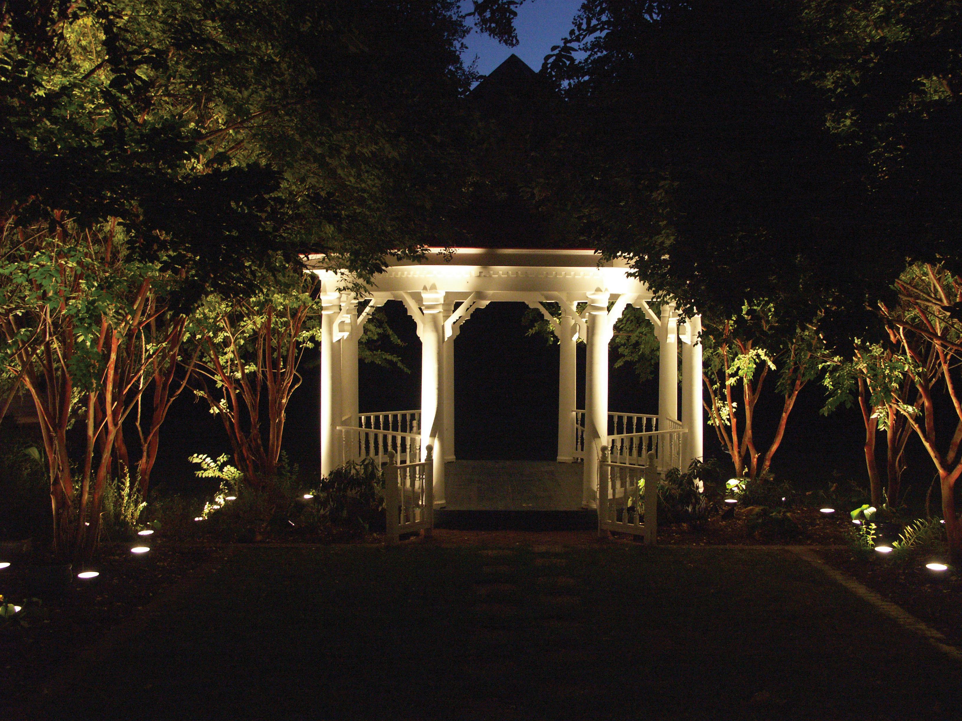 Image of: Outdoor Led String Lighting