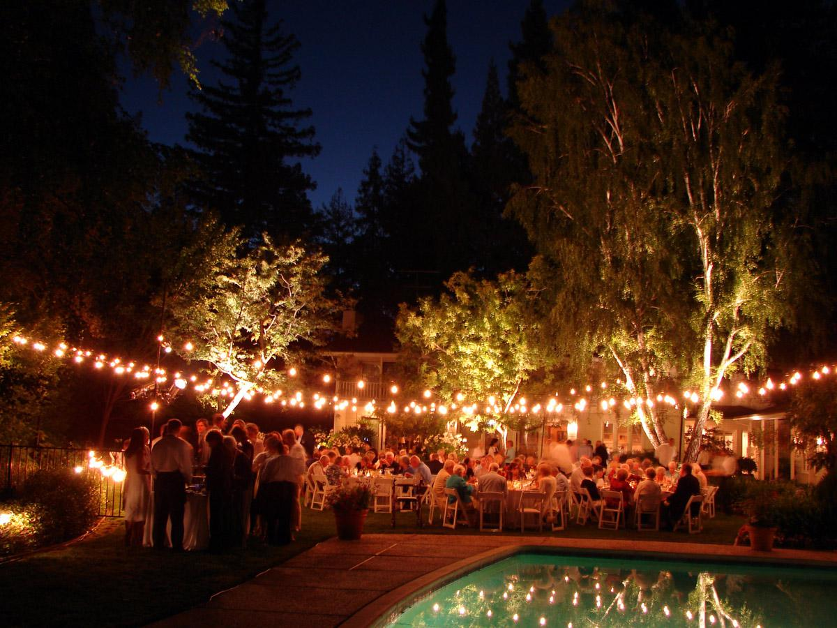 Image of: Outdoor Party Lighting Ideas