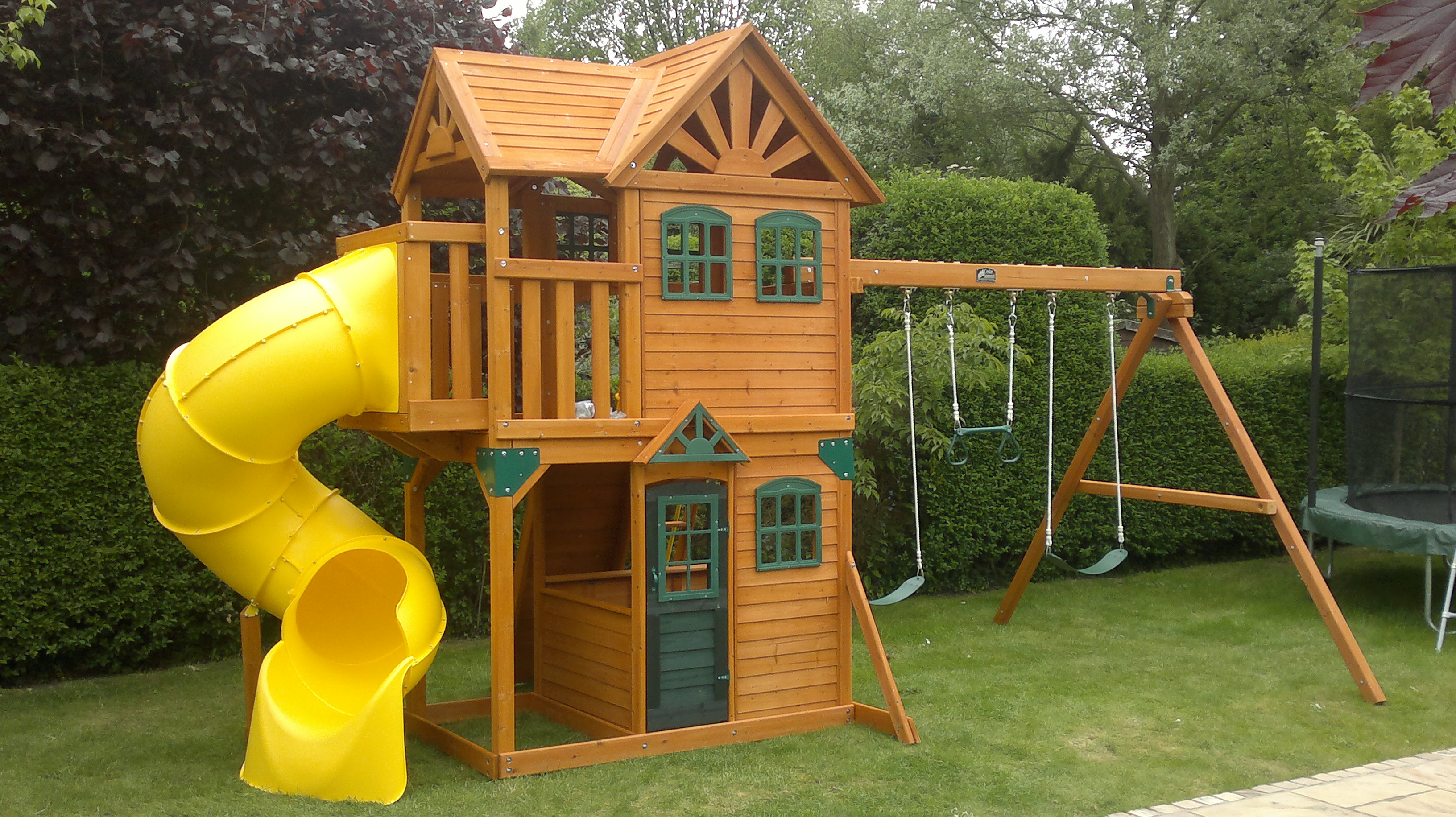 Image of: Outdoor Playhouses Toddlers