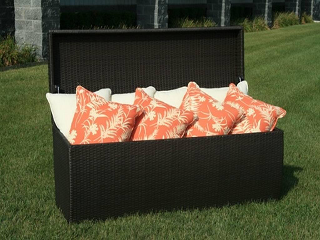 Image of: Outdoor Storage Bench