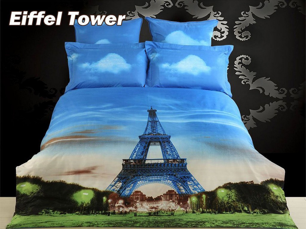 Image of: Paris Themed Comforters