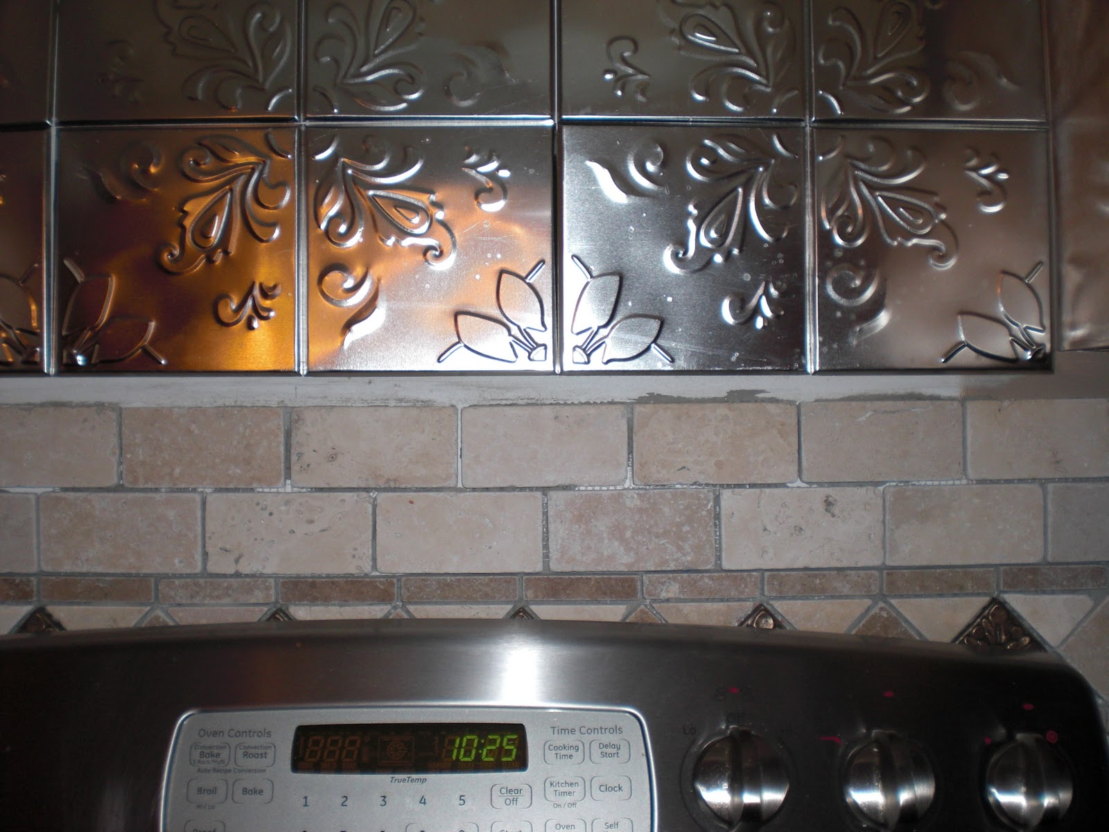 Image of: Peel And Stick Backsplash