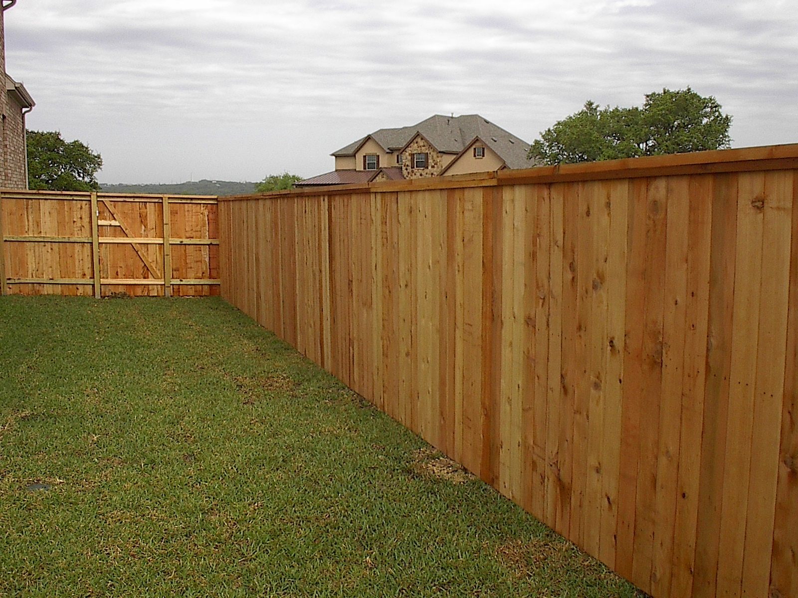 Image of: Pictures Of Wooden Fences Idea
