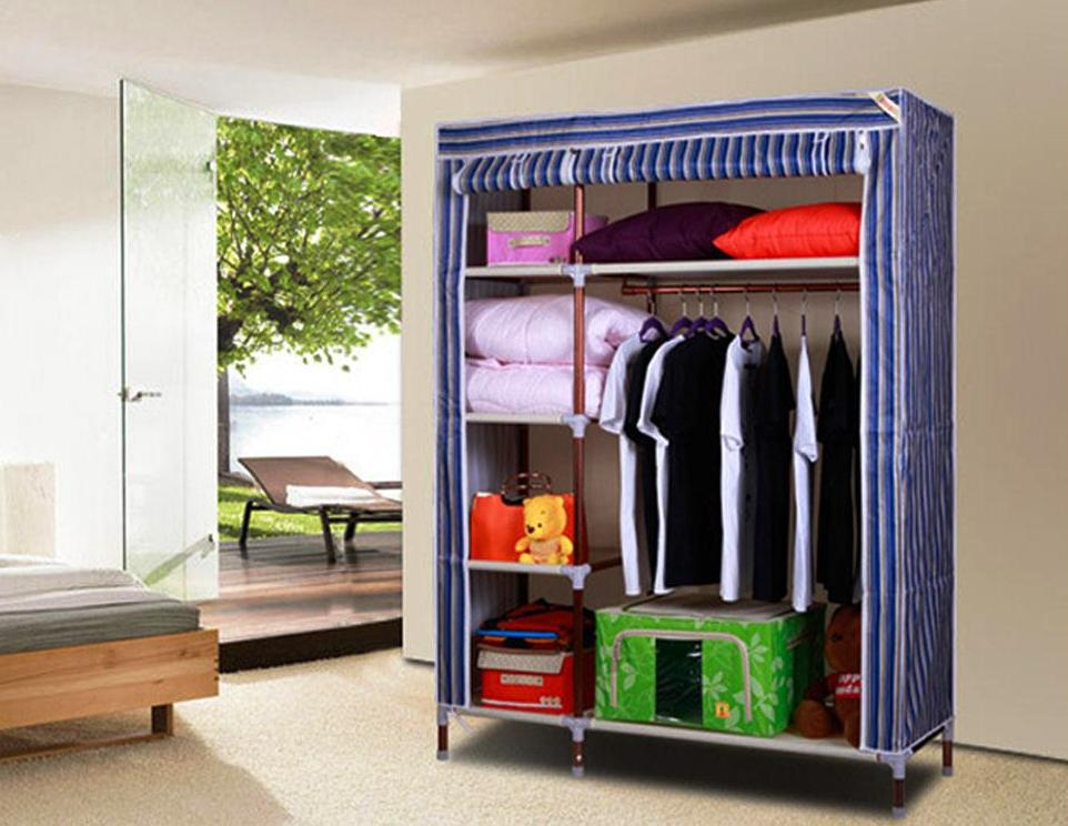 Image of: Portable Wardrobe Closet Walmart
