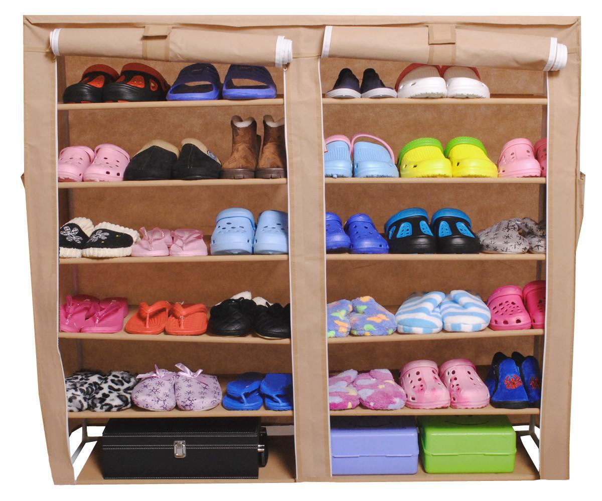 Image of: Portable Wardrobe Rack