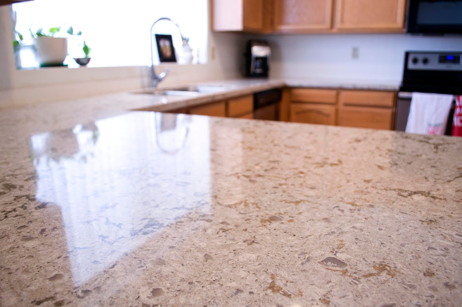 Image of: Quartz Countertops Houston