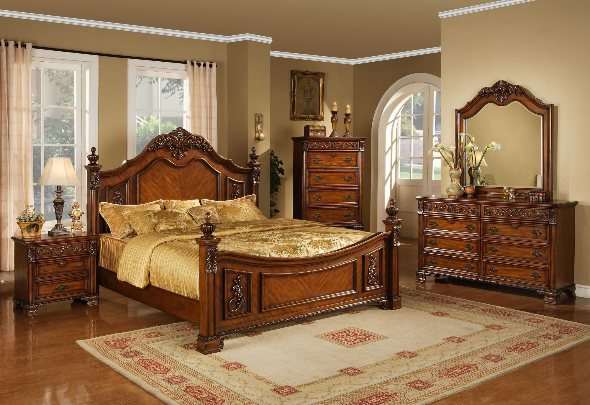 Image of: Queen Size Bedroom Furniture Sets