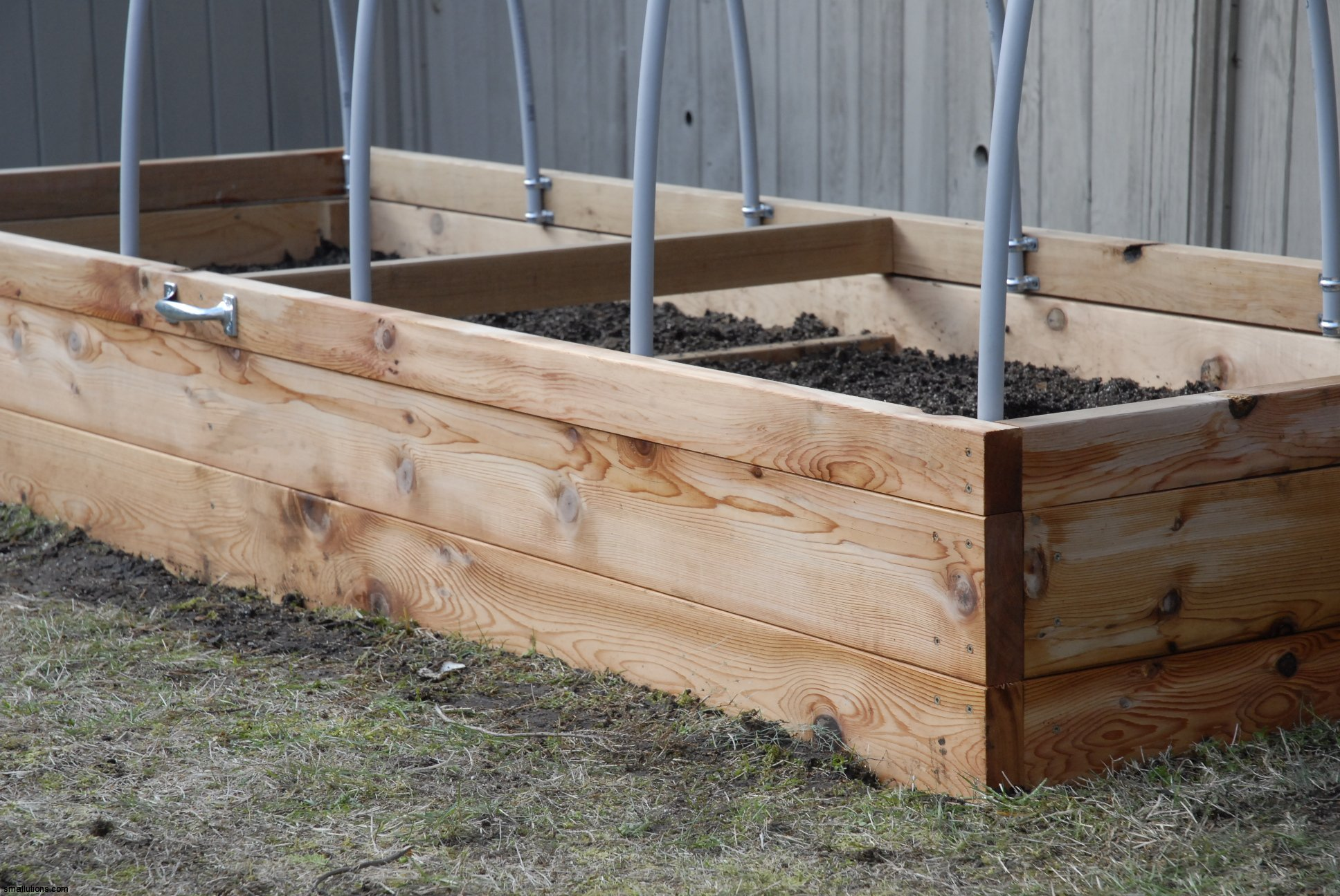 Image of: Raised Bed Garden Kit